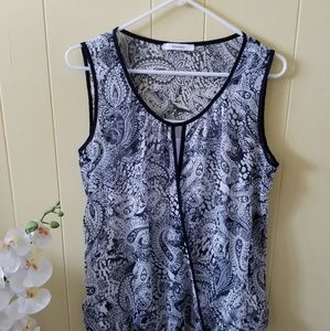 DRESSBARN BLOUSE SHIRT TOP WOMEN'S  SIZE MEDIUM